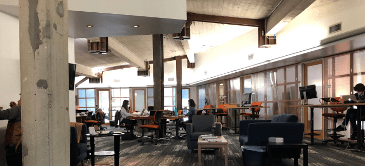 blank spaces coworking space