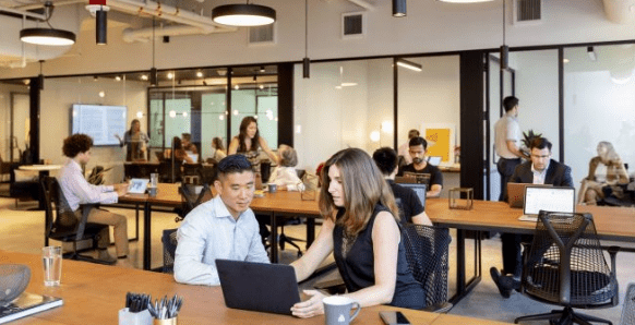Industrious coworking space atl