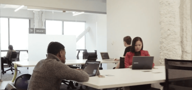 make offices coworking space chicago