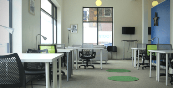 room to grow coworking space chicago