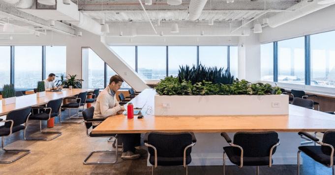 wework coworking space atl