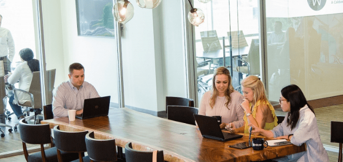 workwell coworking space houston