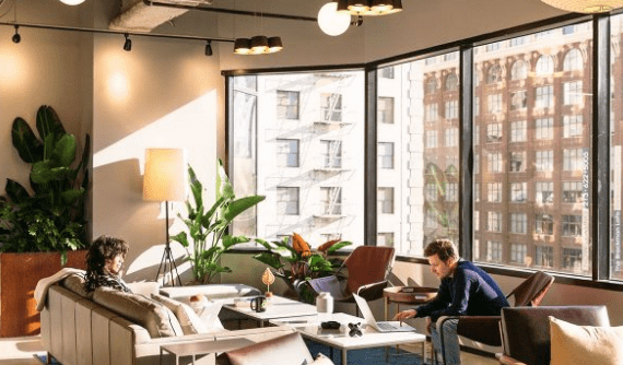 industrious coworking space dallas