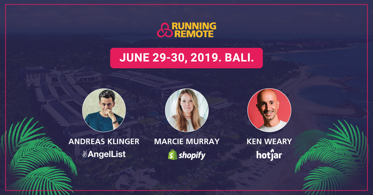 Running Remote Conference 2019