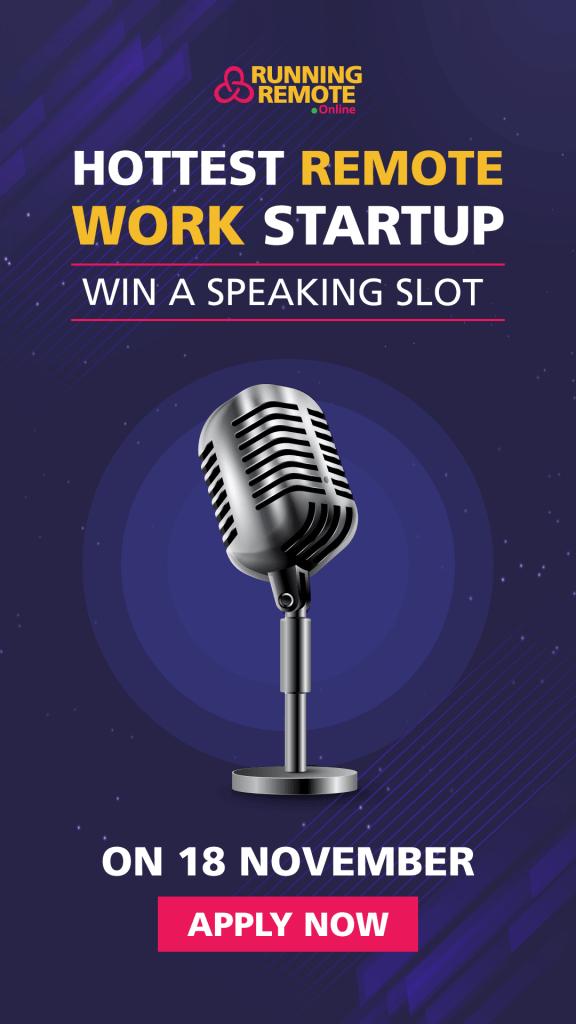 Startup contest Nov 2020