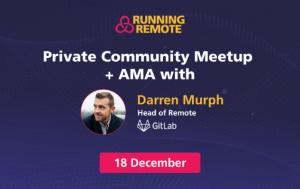 Private Meetup Darren Murph