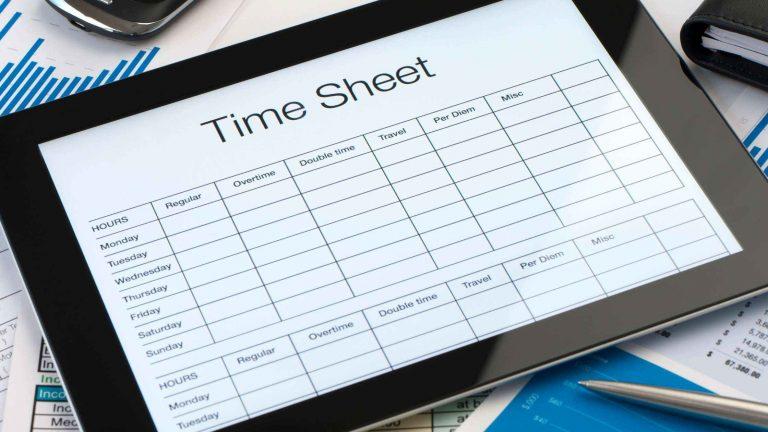 Free timesheet templates